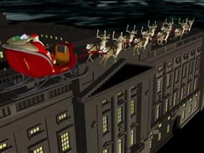 Santa in London