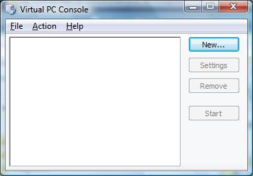 VirtualPCConsole
