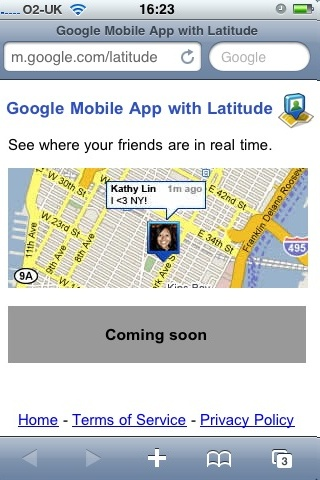 IPhone latittude not available!