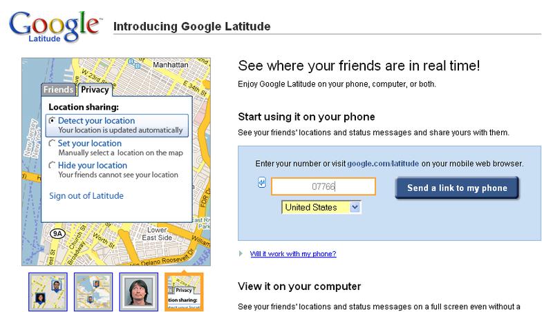 Google Lattitude