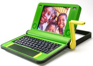Laptop-crank